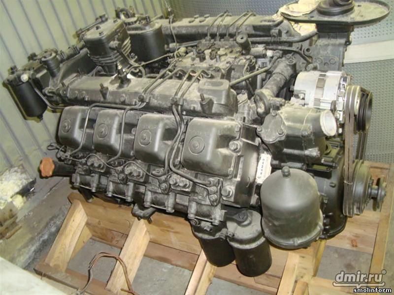 Ремонт двигателя ямз 7511
